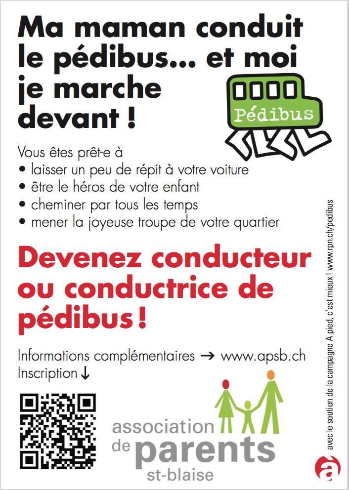 New pedibus flyer 2017