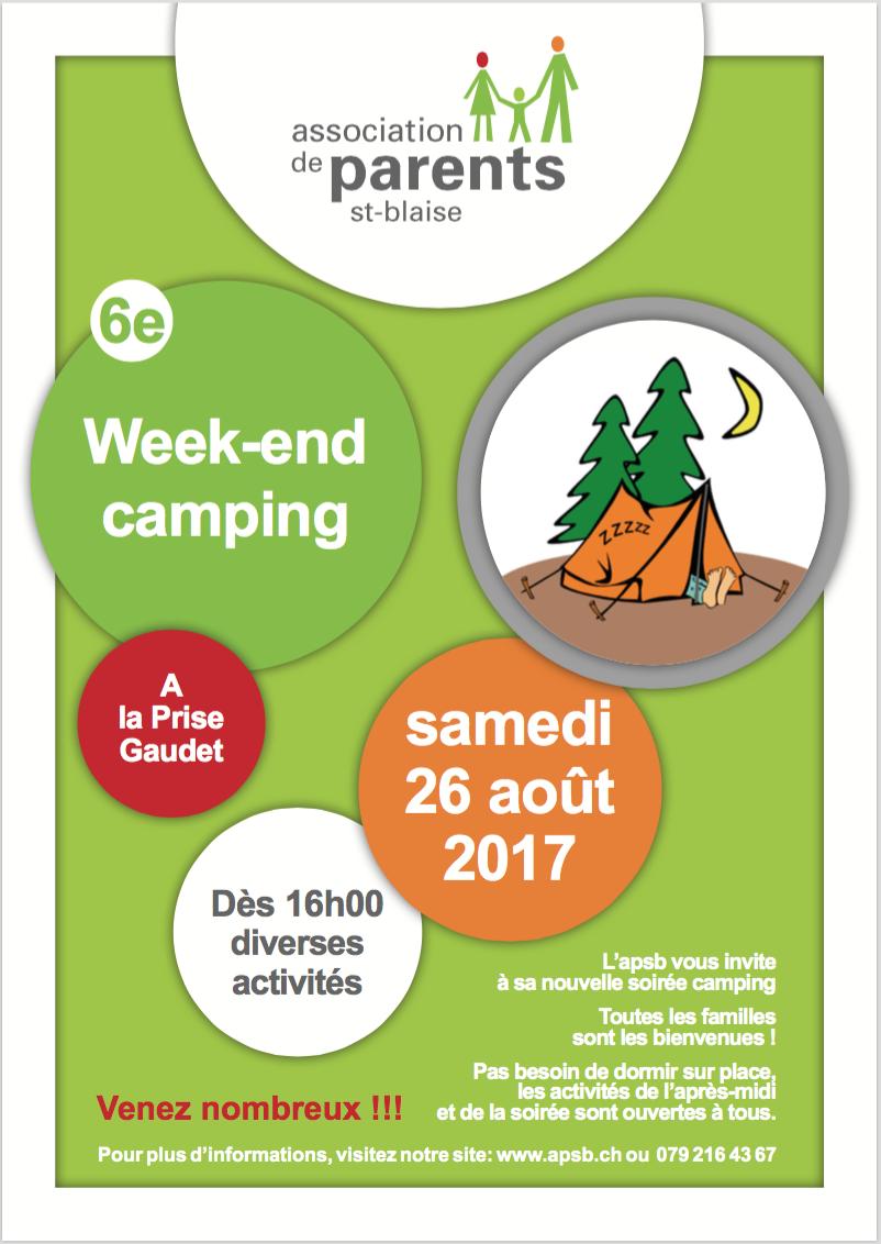 Weekend camping 2017
