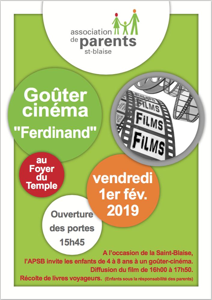 annonce apsb cinema 2019