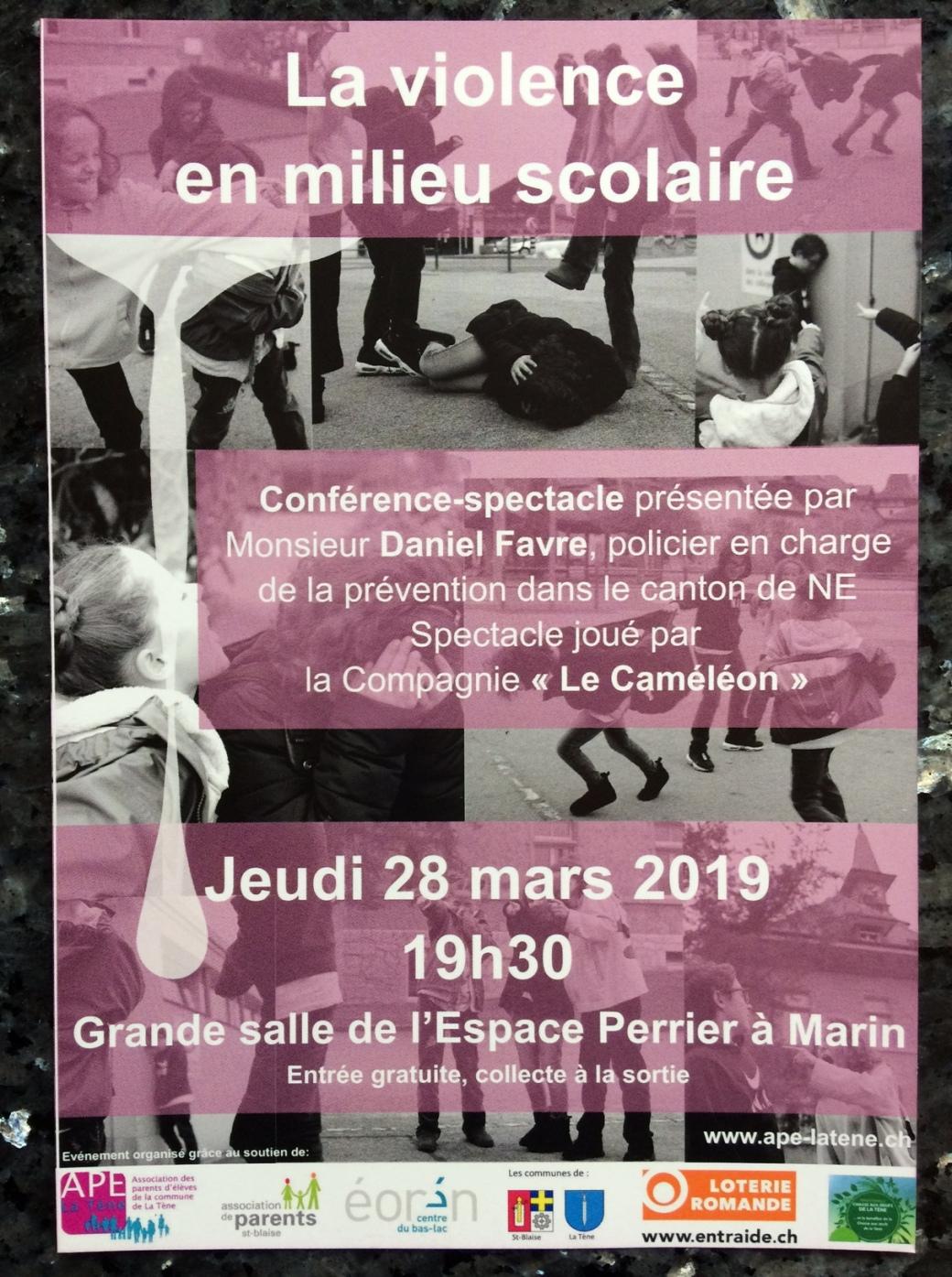 Conférence violence 2019